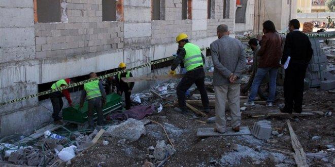 İnşaatın 6'ncı katından düşen işçi öldü