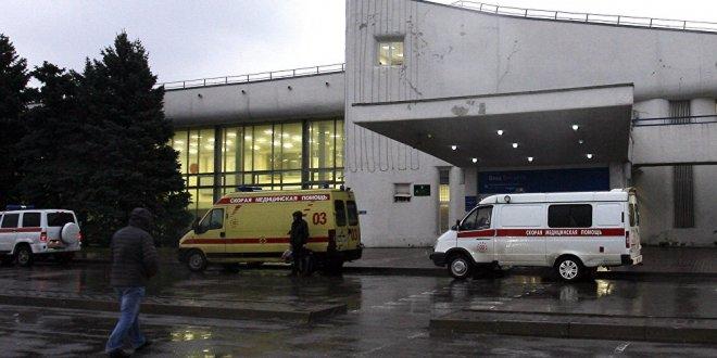 Kırım'da bir okulda patlama