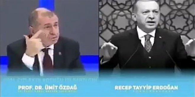 Özdağ'ın Erdoğan'a cevabı tekrar gündemde