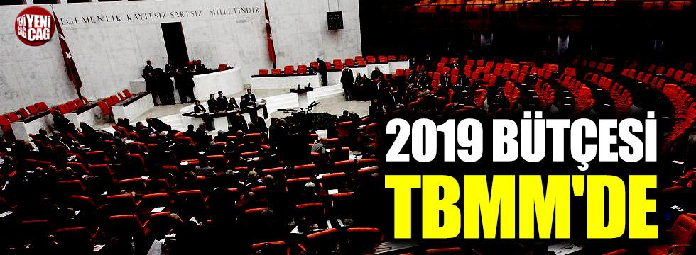 2019 bütçesi TBMM'ye sunuldu