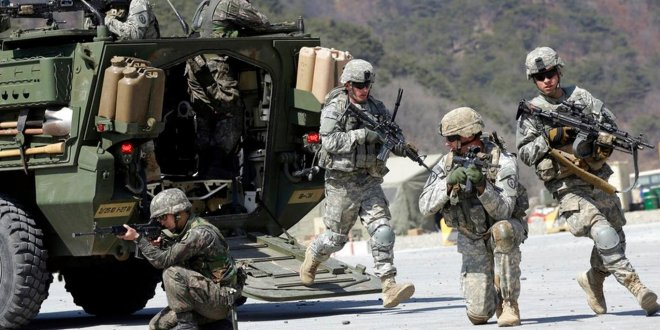 ABD'li askerler savaşa gireceklerinden emin