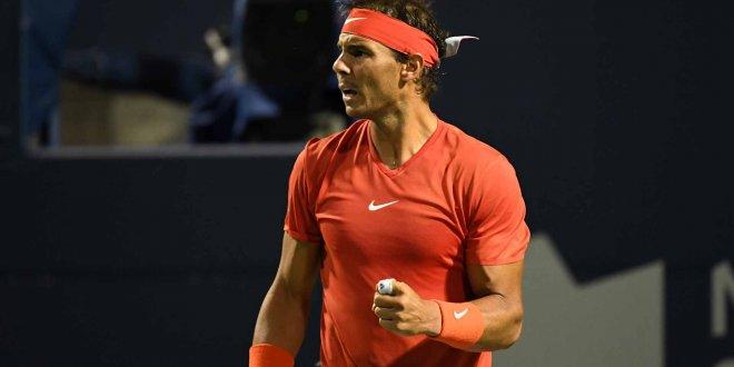 Nadal'dan Terim'e hediye