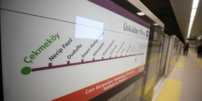 Uysal'dan metro açılışı için tarih verdi