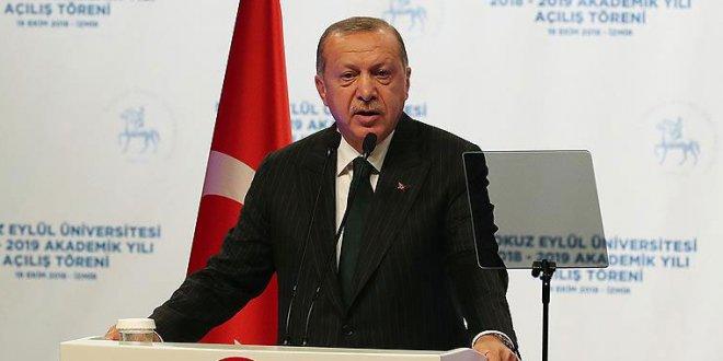Erdoğan: Özel sektörü zorlu bir süreç bekliyor