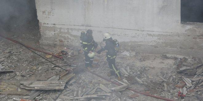 Yangının sıçrama riskine böyle önlem aldı