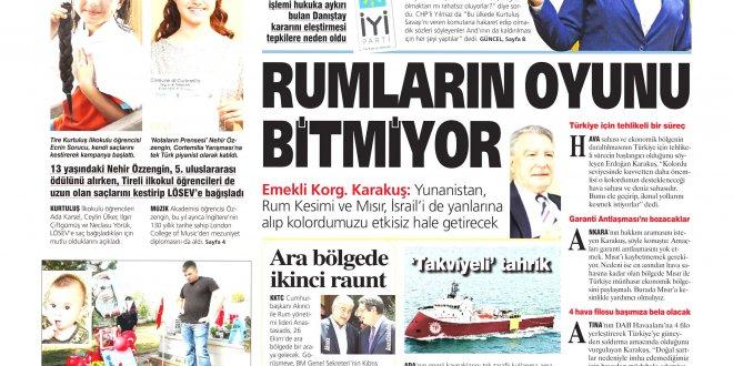 Günün Ulusal Gazete Manşetleri - 20 10 2018