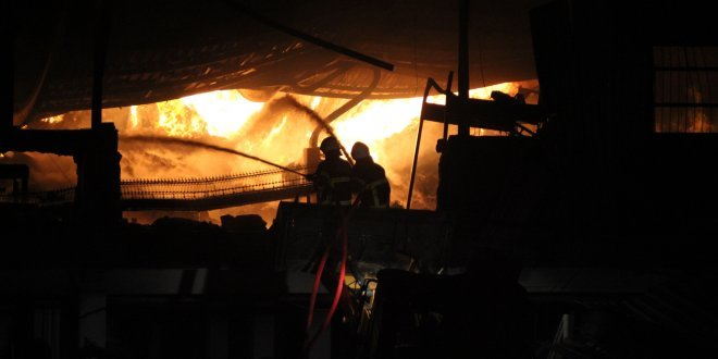 Bir fabrika yangını daha!