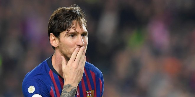 Barcelona'da Messi şoku