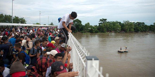 Orta Amerika'da insanlık dramı