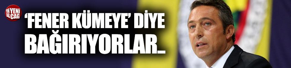 """Ali Koç: """"'Fener Kümeye' diyorlar"""""""