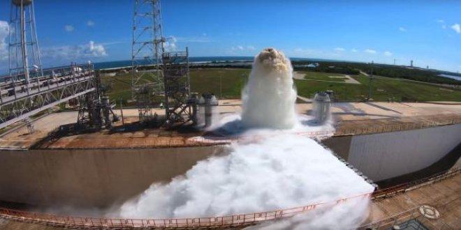 NASA, 1.7 milyon litre suyu tahliye etti