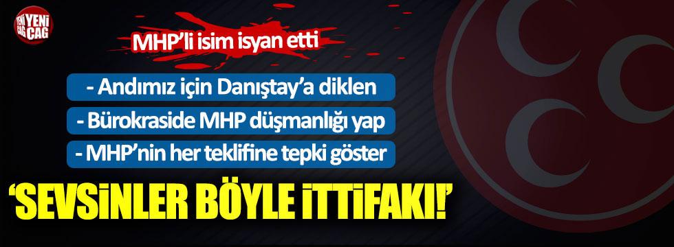 "MHP'li Enginyurt: ""Sevsinler böyle ittifakı!"""