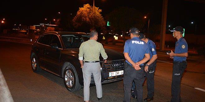 6'ncı kez alkollü yakalanan sürücüye 7 bin lira ceza