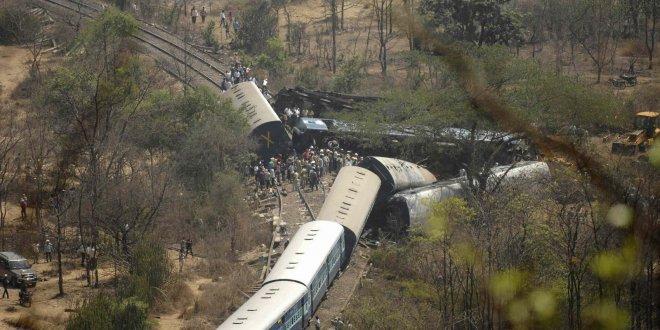 Hindistan'da tren kazası bilançosu: 2 yılda 50 bin ölü!