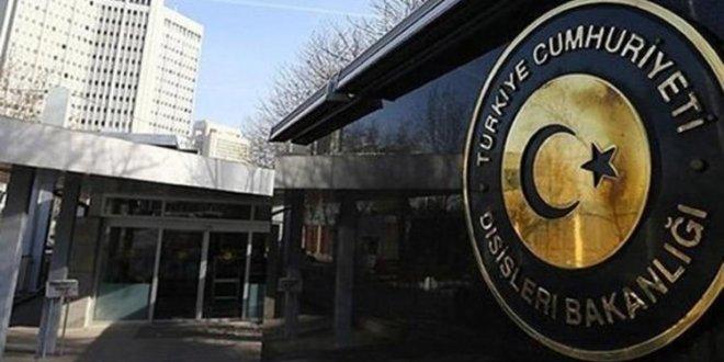 Yunan Büyükelçi Dışişleri'ne çağırıldı