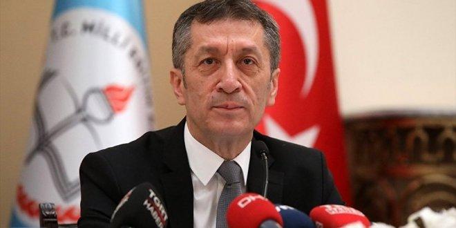 Milli Eğitim Bakanı Ziya Selçuk, 'Vizyon Belgesi'ni açıkladı