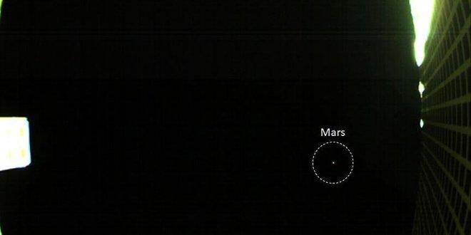 NASA, Mars'ın ilk fotoğraflarını yolladı!