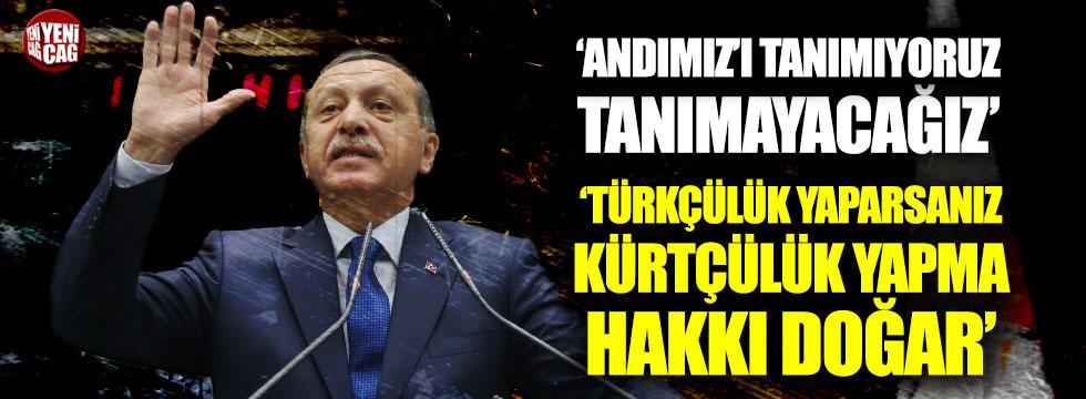 Cumhurbaşkanı Erdoğan'dan Andımız açıklaması