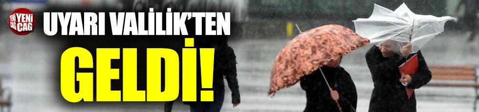 Ankara Valiliği'den soğuk hava uyarısı