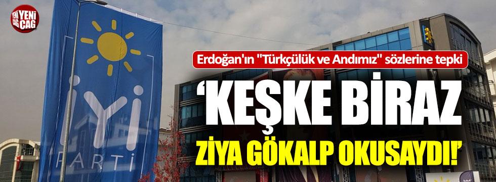 İYİ Parti: 'Türk'üm demekten çekinen zavallılar'