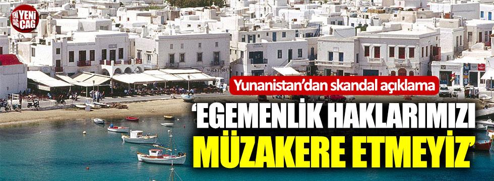 Yunanistan'dan karasuları ile ilgili skandal açıklama