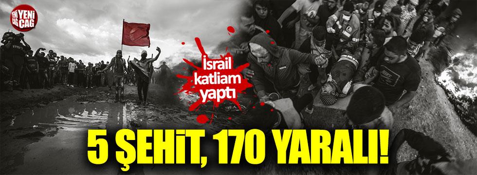 İsrail Gazze'de katliam yaptı