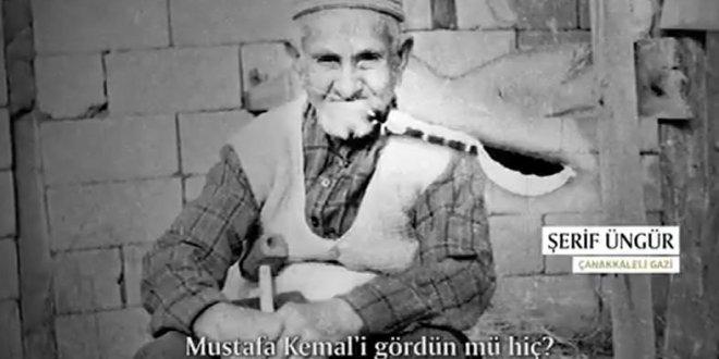 Çanakkale Gazisi Atatürk'ü böyle anlattı