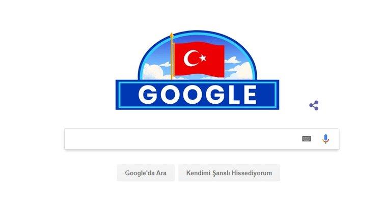 Google'dan 29 Ekim'e özel logo…