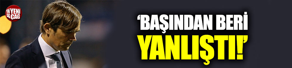 Fenerbahçe'nin Cocu'yu göndermesi Hollanda basınında