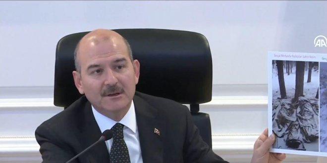 İçişleri Bakanı Soylu'dan donarak şehit olan askerler ile ilgili açıklama