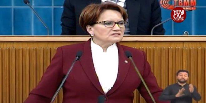 Akşener'den Erdoğan'a maaş tepkisi