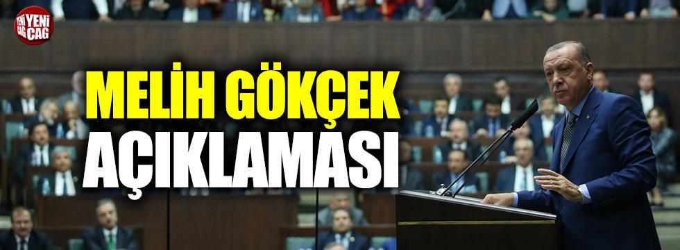 Erdoğan'dan Melih Gökçek açıklaması