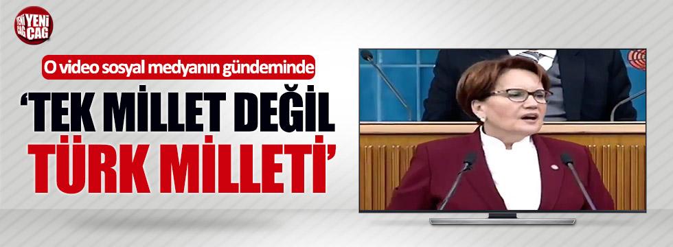 O video sosyal medyanın gündeminde: #TekMilletDeğilTürkMilleti