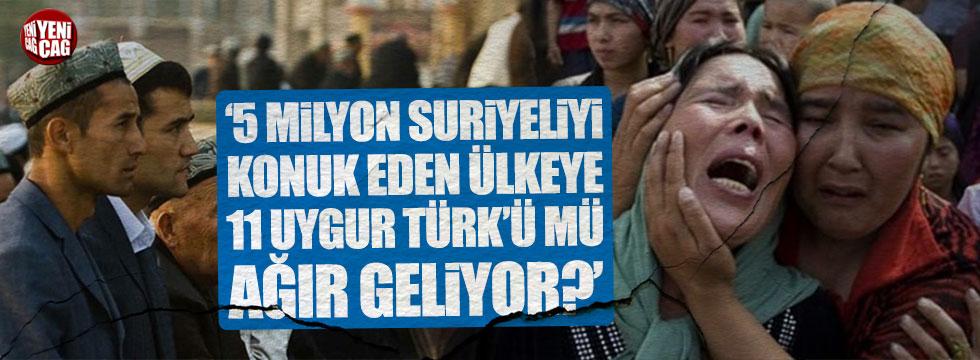 İYİ Partili İsmail Ok: 11 Uygur Türk'ü mü ağır geliyor?