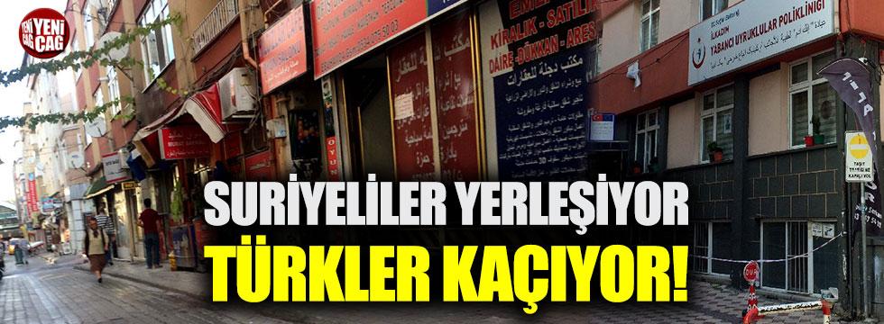 Suriyeliler yerleşiyor, Türkler kaçıyor!