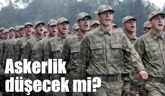 Askerlik 9 aya düşecek mi, Tek tip askerlik mi geliyor?