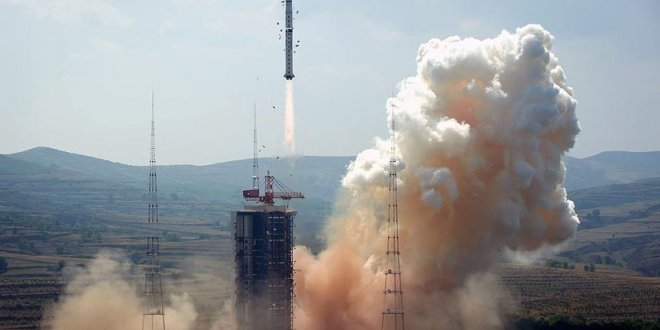 Çin uzaya navigasyon uydusu fırlattı