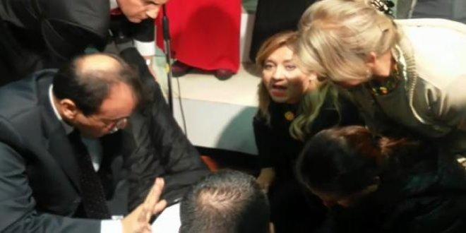 İYİ Parti'li Cesur o solisti ziyaret etti