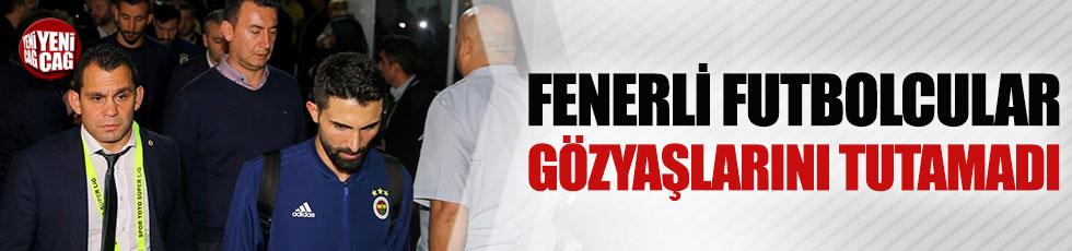 Fenerbahçeli futbolculardan Koray Şener'e ziyaret
