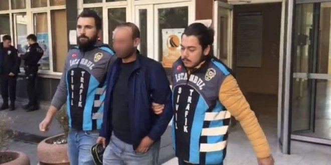 Engelli vatandaşı araca almadığı iddia edilen taksici yakalandı