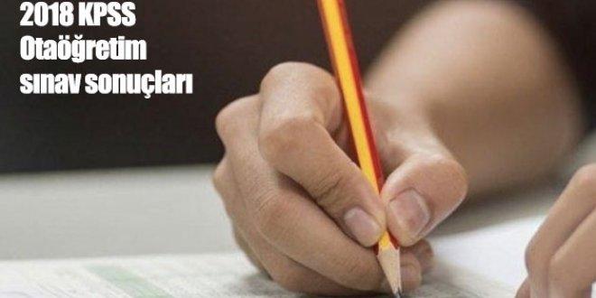 KPSS Ortaöğretim sınav sonuçları ne zaman açıklanacak