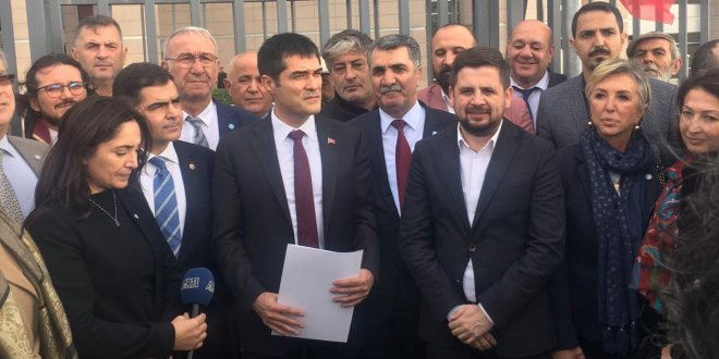 İYİ Parti'den Arnavutköy Belediyesi'ndeki yolsuzlukla ilgili suç duyurusu