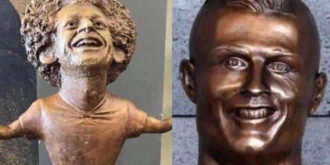 Muhammed Salah'ın heykeli alay konusu oldu