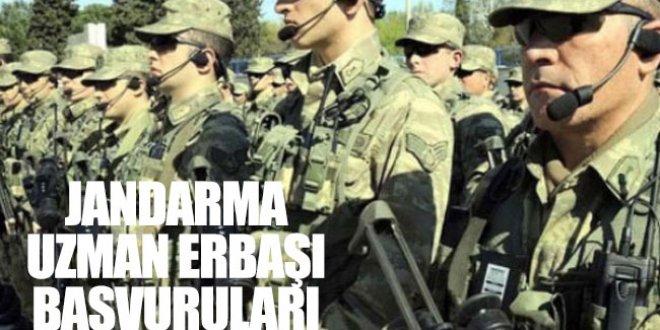 Jandarma Uzman Erbaş alımı 2018 başvuru şartları neler?