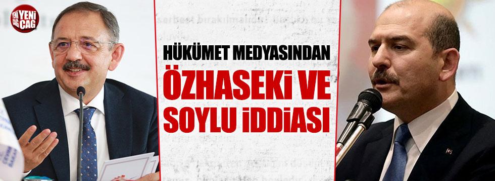 Kulislerde İzmir için Süleyman Soylu, Ankara için Özhaseki iddiası