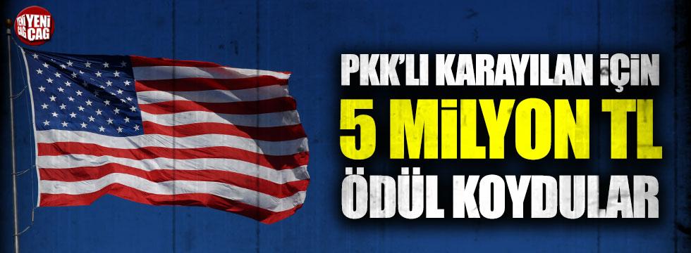 ABD: Karayılan için 5 milyon dolar ödül koyduk