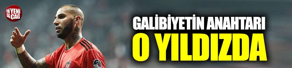 Beşiktaş'ta galibiyetin anahtarı Quaresma'da