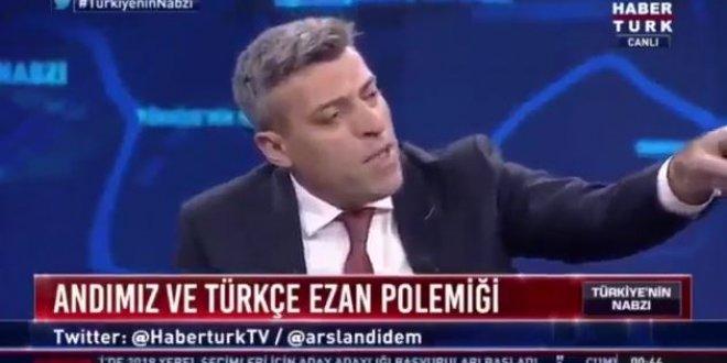CHP'li vekilden Türkçe ezan çıkışı