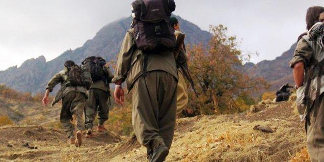 2'si kadın 4 PKK'lı terörist teslim oldu