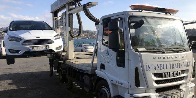 İstanbullu çekilen aracının bilgisine 'cepten' ulaşacak